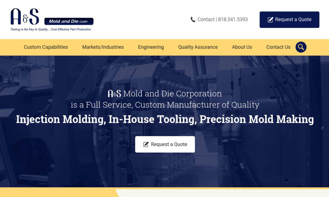 A & S Mold and Die Corporation