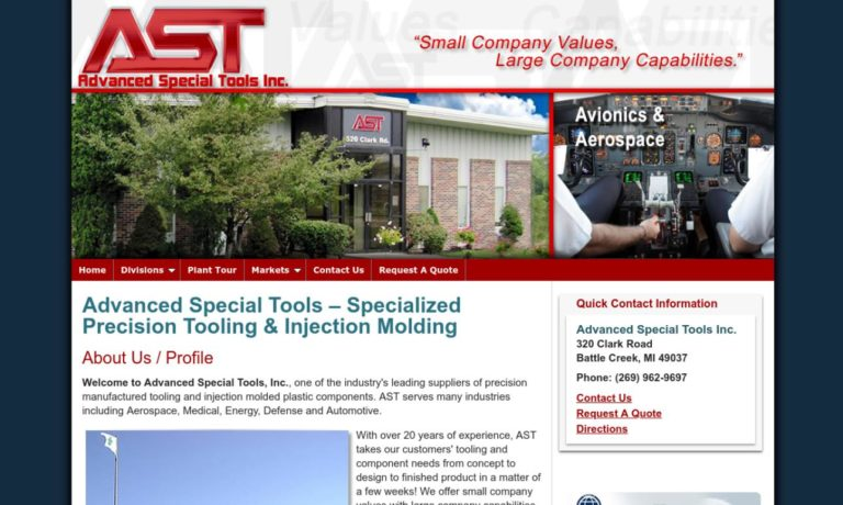 Advanced Special Tools Inc.