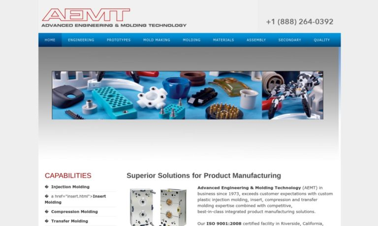 Advanced Engineering & Molding Technology