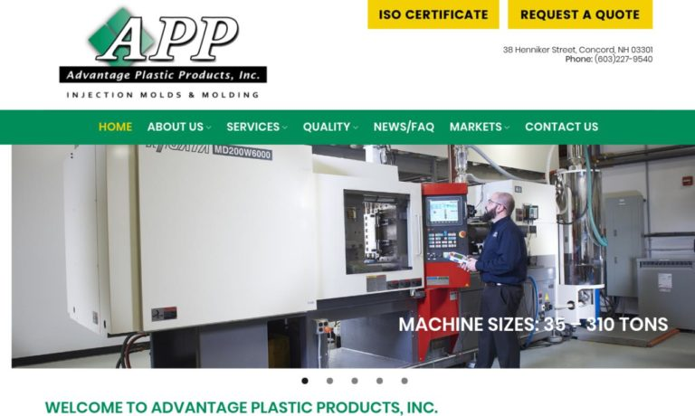 Advantage Plastic Products, Inc.