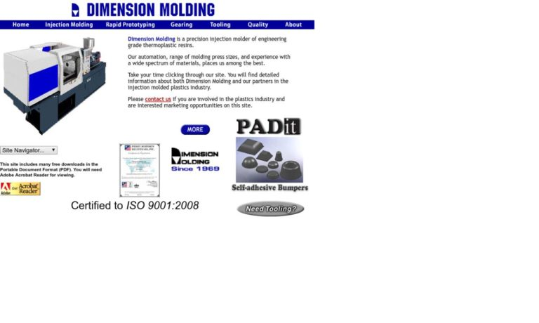 Dimension Molding Corp.