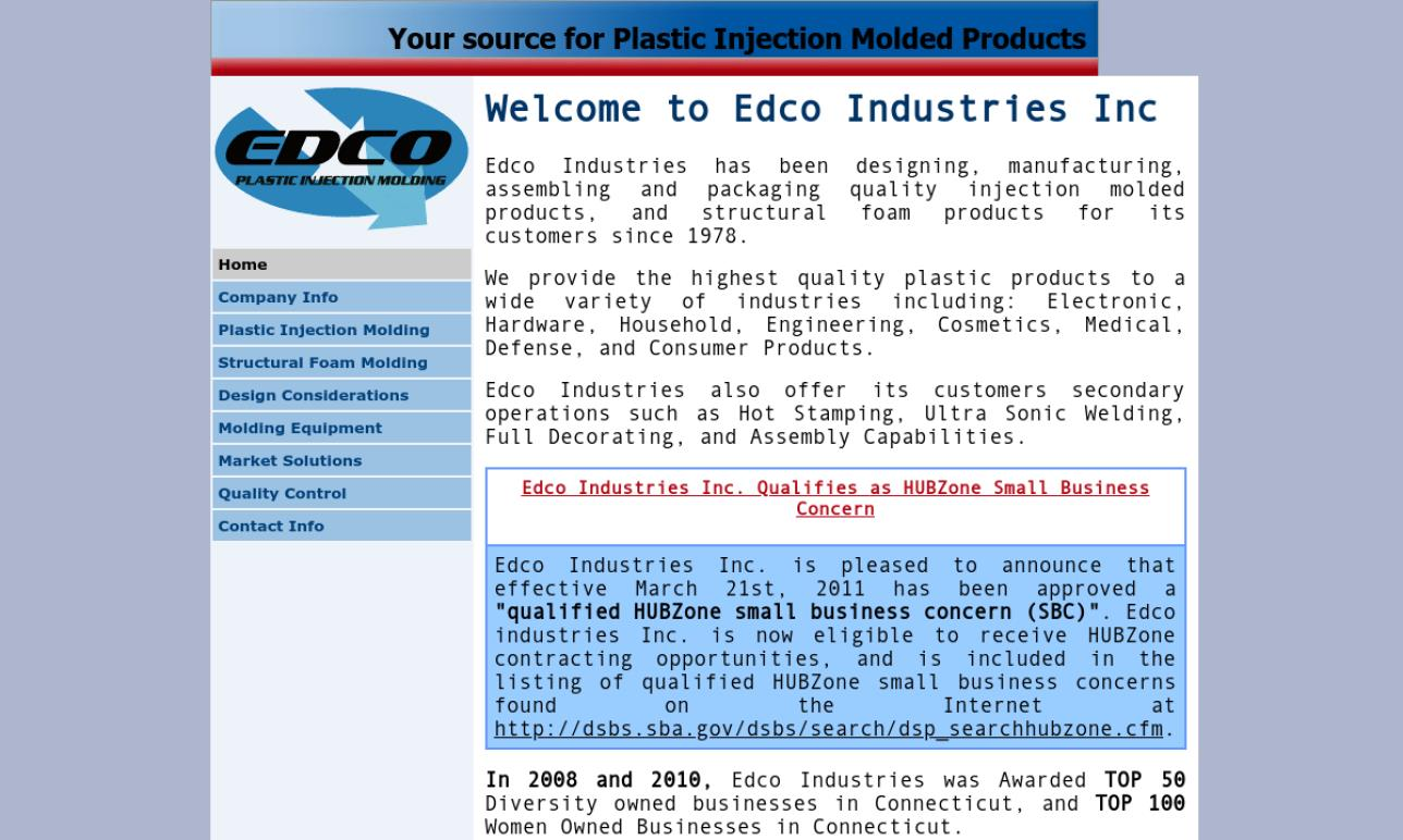Edco Industries, Inc.