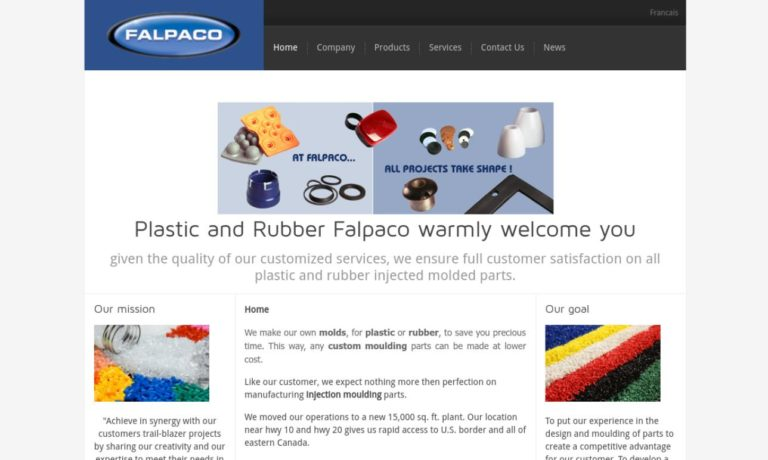 Falpaco Plastic and Rubber Inc.