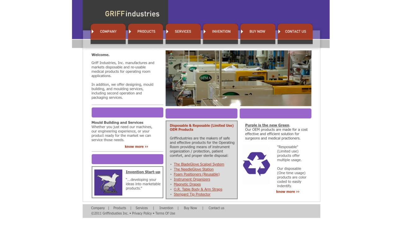 Griff Industries,  Inc.