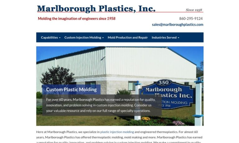 Marlborough Plastics, Inc.