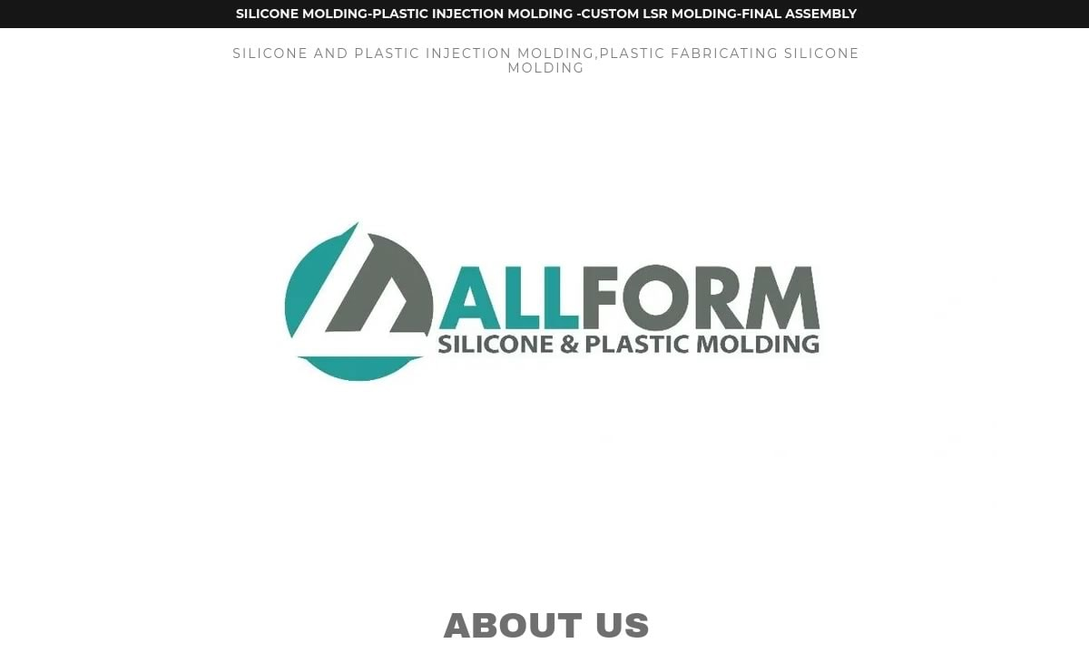 All Form Silicone & Plastic Molding