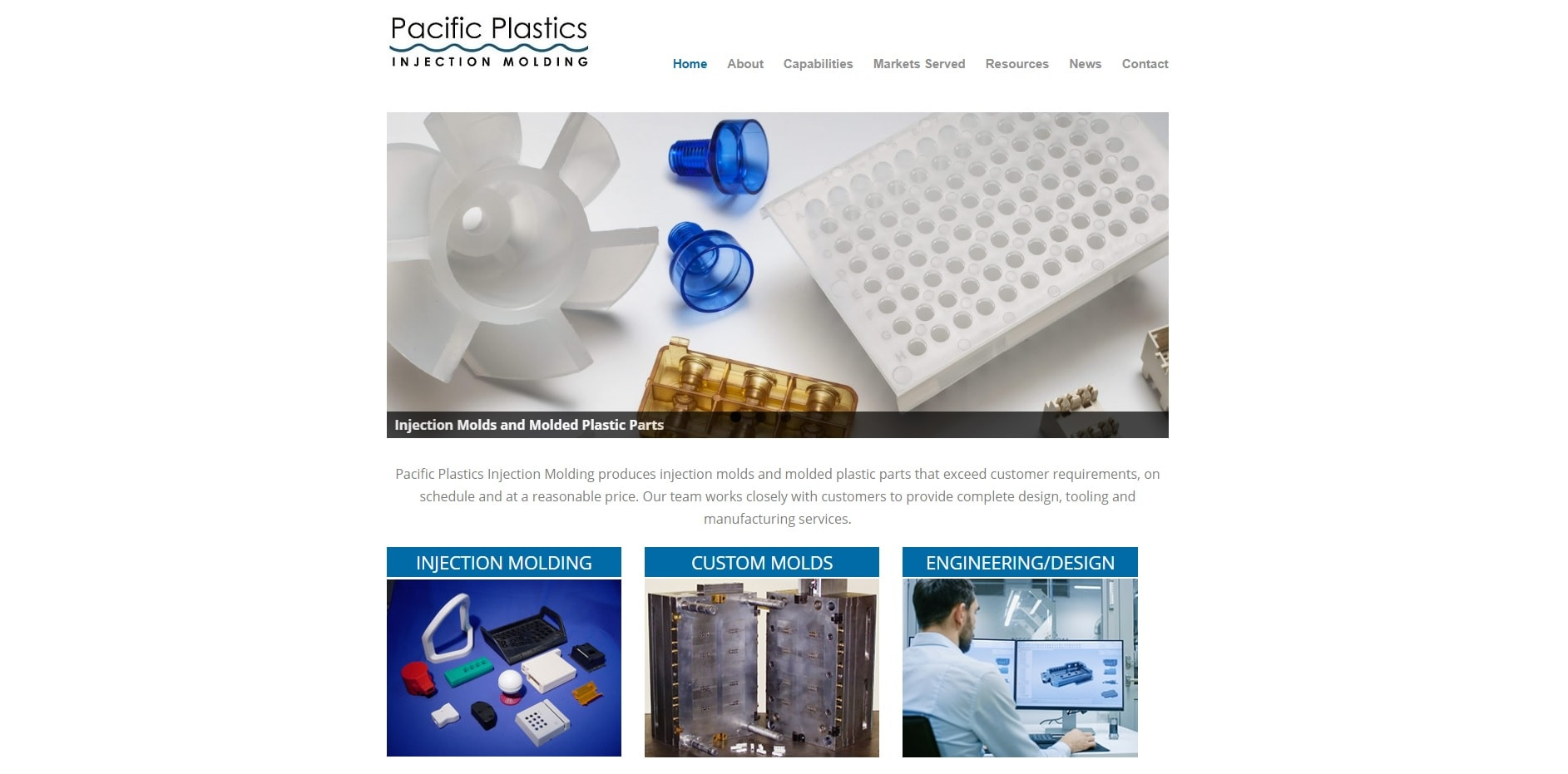 Pacific Plastics Injection Molding