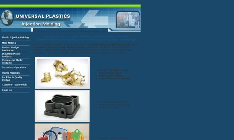 Universal Plastics Injection Molding